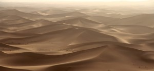 Fietsen door een zandbak