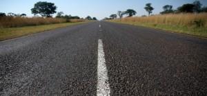 Lange rechte wegen, zonder iets te zien